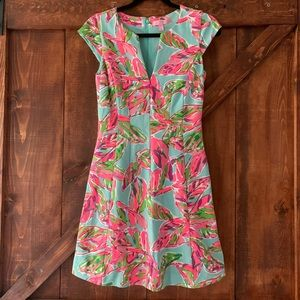 Lilly Pulitzer | Colorful Cap Sleeve Dress